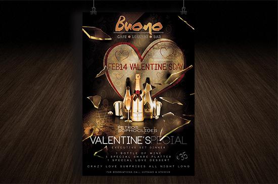 iCreate Web Design | Flyer & Poster Design | Buono Cafe