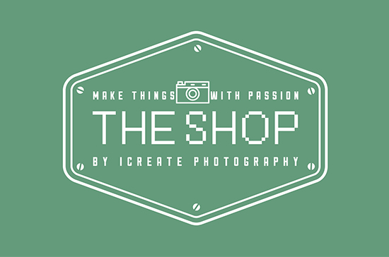 iCreate Web Design | Logo Design | The Shop by iCreate Photography