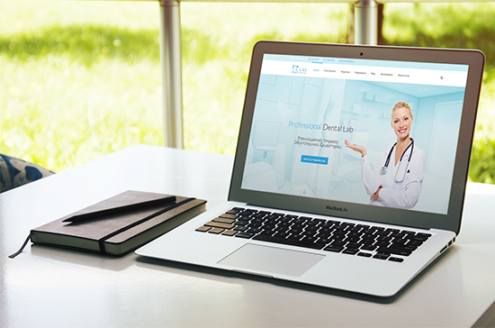 iCreate Web Design | Web Design | E&M Dental Lab