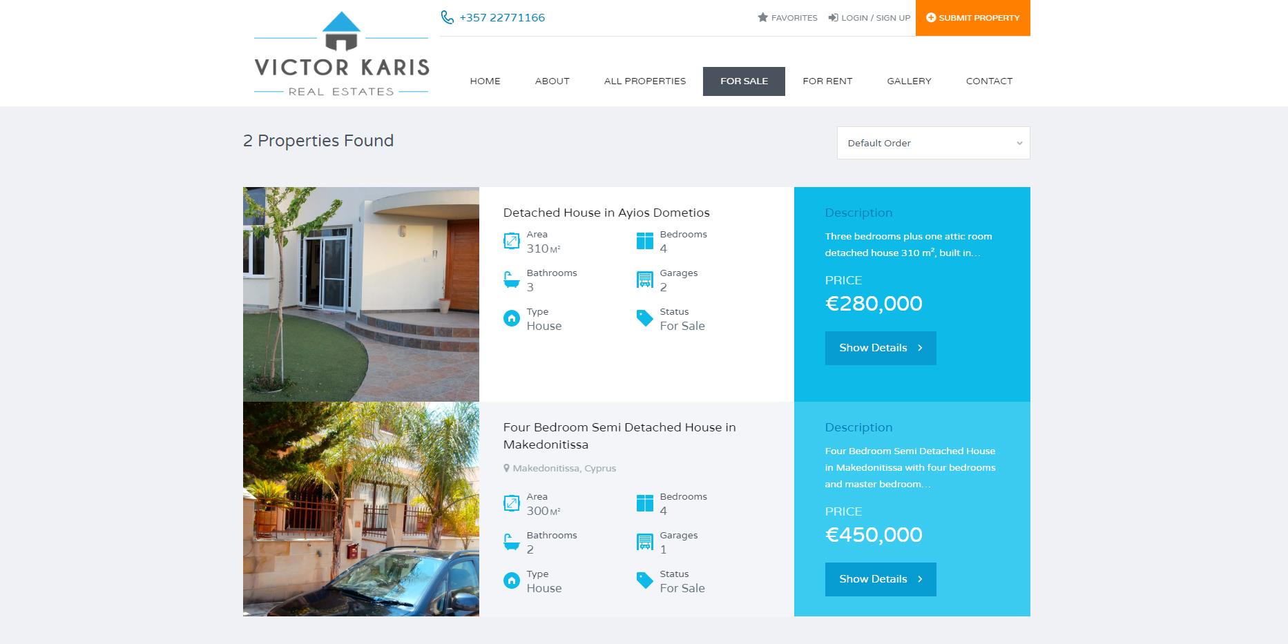 iCreate Web Design | Web Design | Karis Real Estates